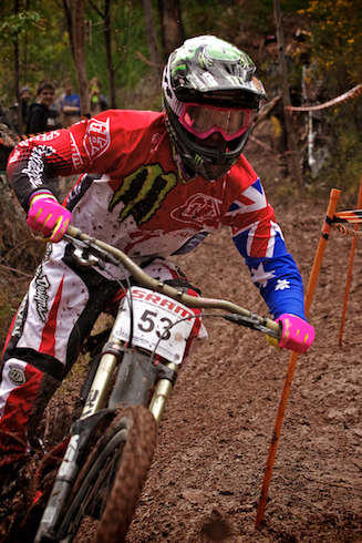TB takes the win at Fox Creek Fast DH Race, ILMTB, 2012